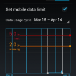 Data Usage and Info