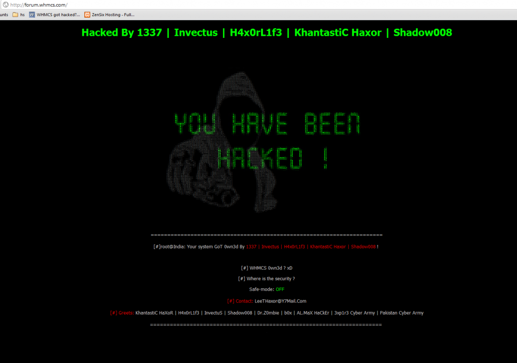 WHMCS Hacked Again