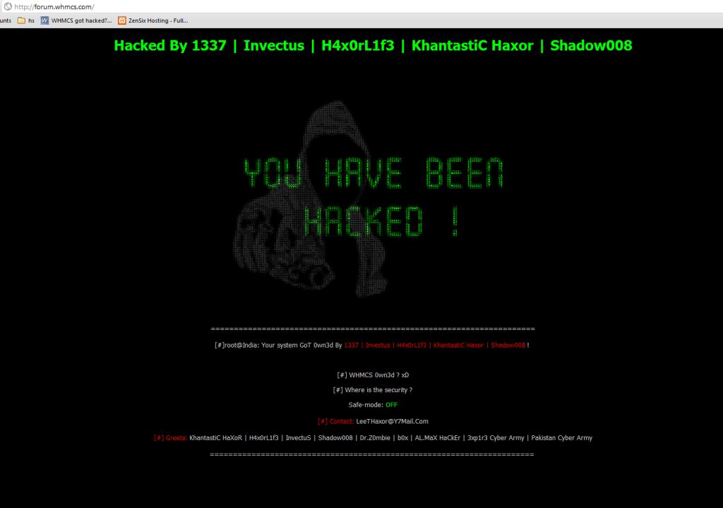 WHMCS Hacked Again