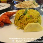 SriLanka tour - Local food