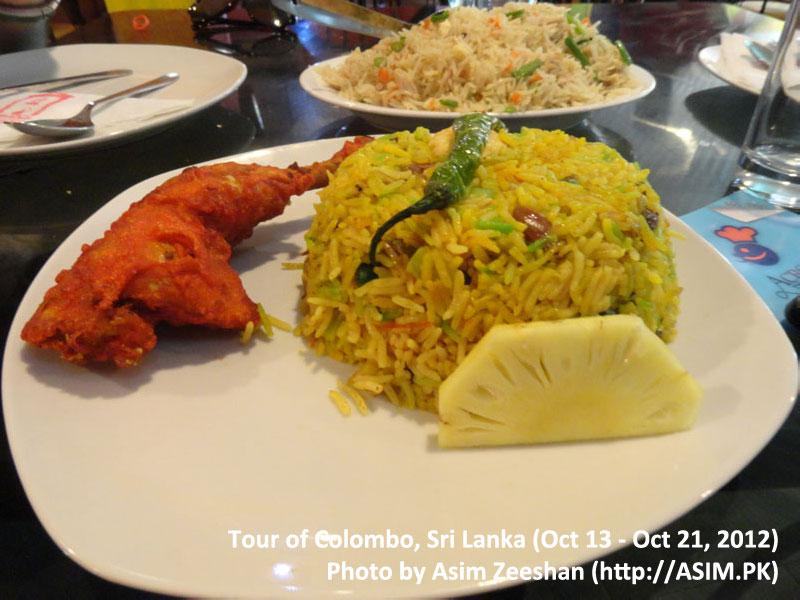SriLanka tour - Local food