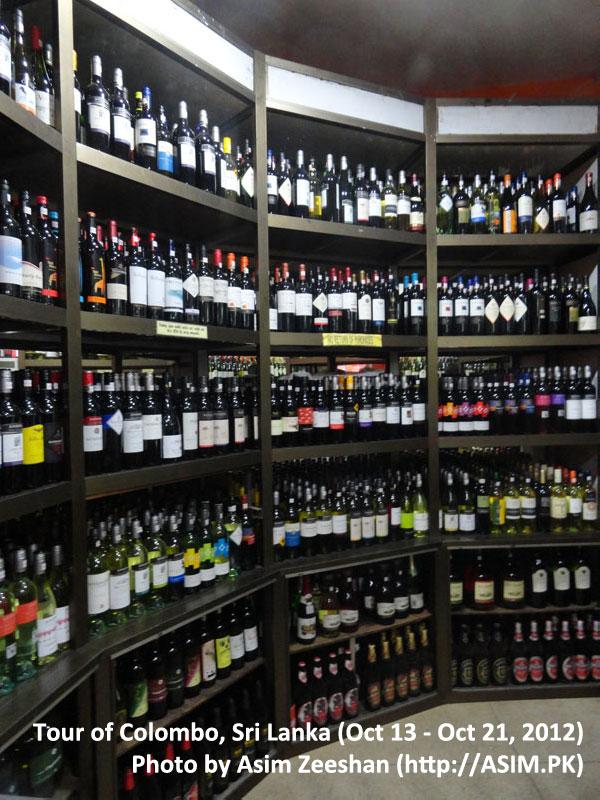 SriLanka tour - Liquor