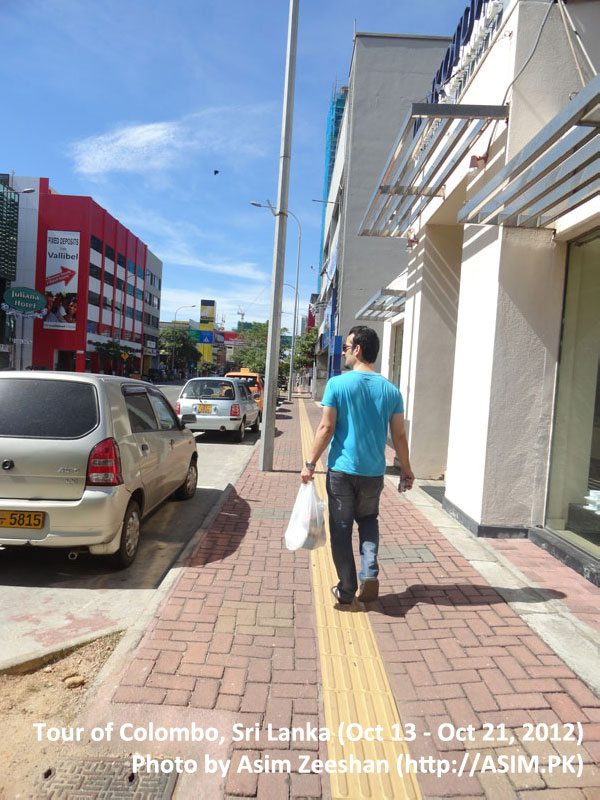 SriLanka tour - Galle Road Colombo