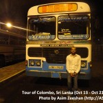 SriLanka tour - Lanka Ashok Leyland (local bus)