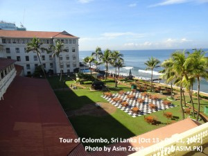 SriLanka tour - Galle Face Hotel