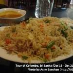SriLanka tour - Food