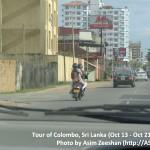 SriLanka tour - Family on Bike