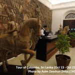 SriLanka tour - Entrance of Galle Face Hotel