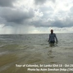 SriLanka tour - me Swimming at Hikkaduwa Beach